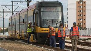 Zobacz, jak testują wiadukt[br] tramwajowy na Andersa