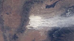 Zobacz niezwykłą białą burzę piaskową
