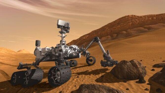 Ciekawość zbada Marsa. Start w sobotę