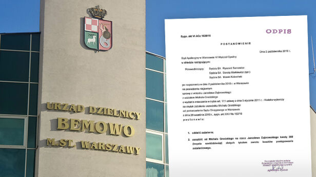 Burmistrz Bemowa przegrał proces w trybie wyborczym Mateusz Szmelter / tvnwarszawa.pl