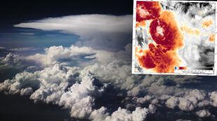 -111 stopni Celsjusza. Rekord zimna na naszej planecie padł na szczycie chmury burzowej