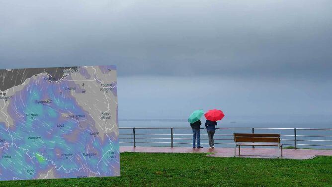 Pogoda na 5 dni: ostatni weekend maja deszczowy i chłodny, ale idą zmiany