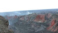 Naukowcy badają wnętrze krateru Baugur, wulkanu  Barbarbunga