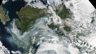 Upał, a teraz pożary. Alaska w kłębach dymu