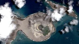 Nowo powstała wyspa trochę jak Mars. Zostało niewiele czasu, by ją zbadać