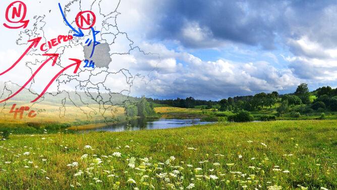 Końcówka sierpnia z dobrą pogodą <br />i wysoką temperaturą