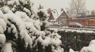 Mieszkańcy Zakopanego o pierwszym śniegu