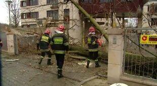 Wichura w Małopolsce (TVN24)